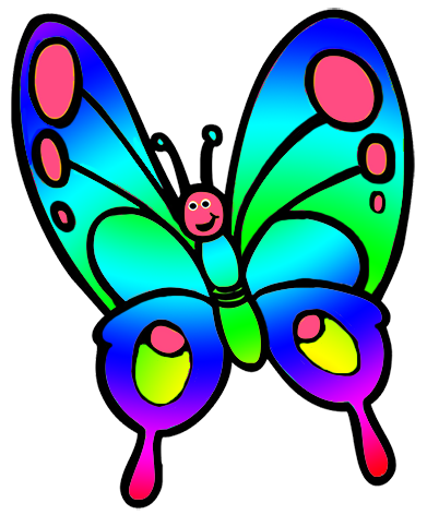 Butterfly Images Clip Art : butterfly, images, Butterfly, Clipart, Drawing,, Ladybug