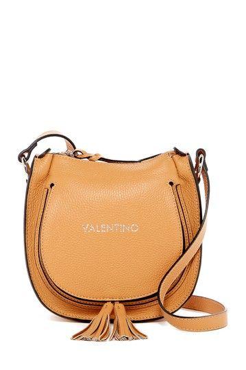 Image of Valentino By Mario Valentino Sylvie Leather Crossbody
