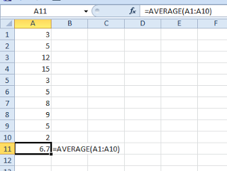Raj excel working with average function in excel raj excel by raj excel working with average function in excel freerunsca Images