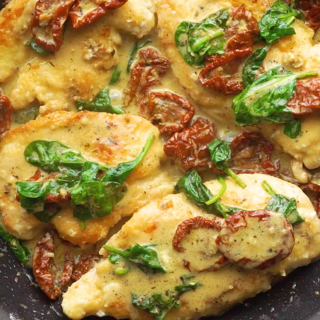 Photo of Creamy Tuscan Parmesan Chicken