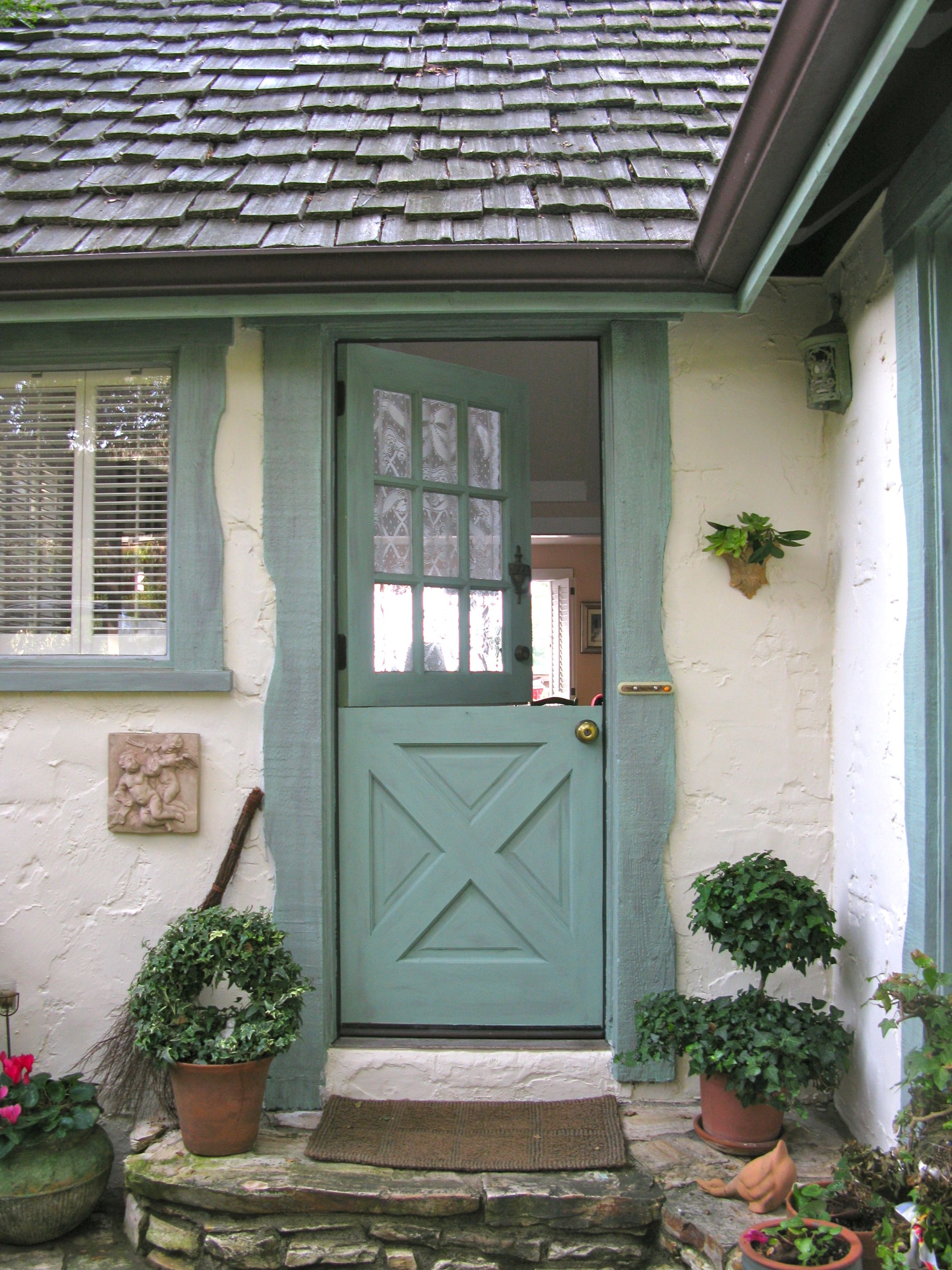 Country Cottage Style Front Doors Home And Decor Pinterest
