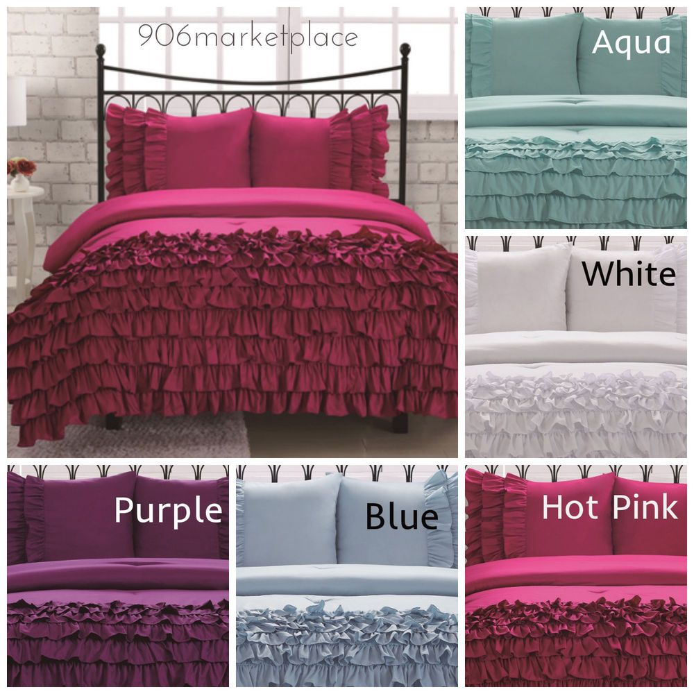 Girl Teen Comforter Bedding Set Glam Boutique Twin Full ...