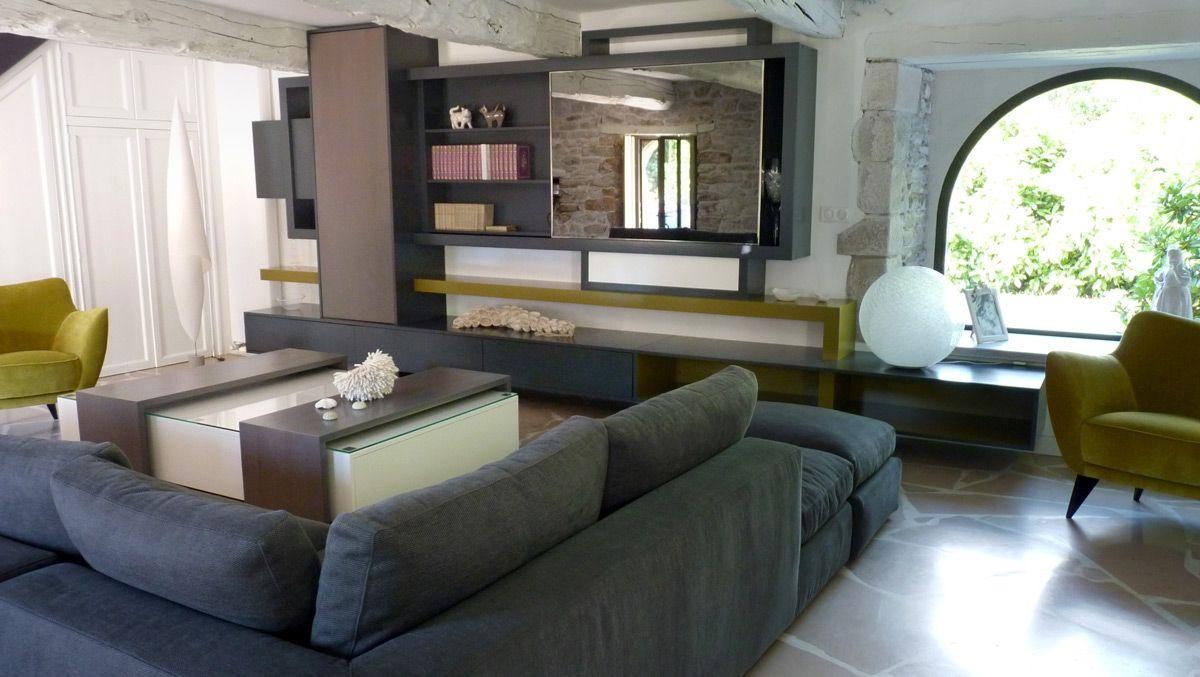 Meuble Tv Bibliothque Design Latest Meuble Tele Temahome