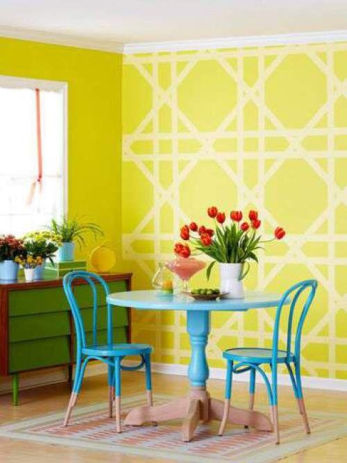 11-pintar-muebles-azul-turquesa | Azulejos, suelos y paredes ...