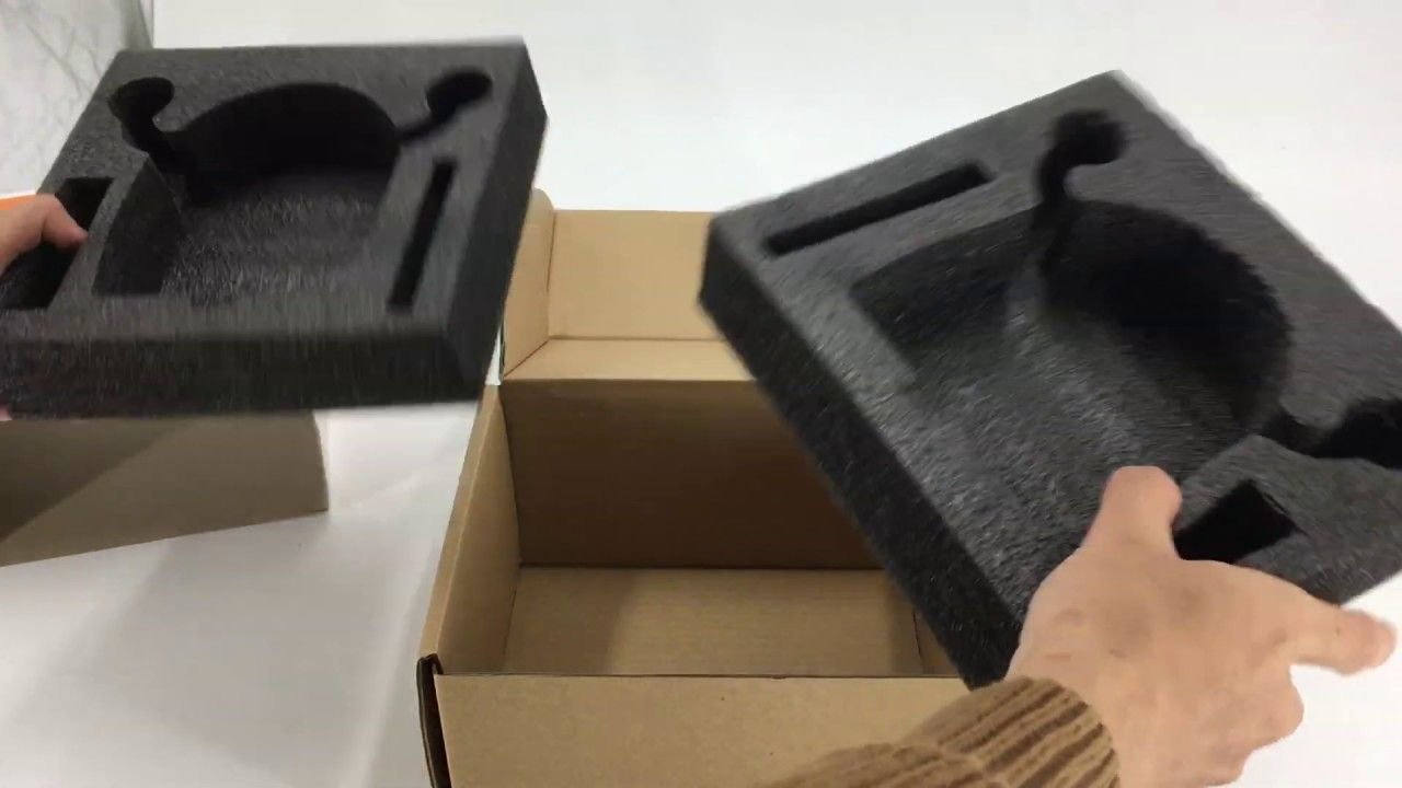 Voice Robot Packaging Box Epe Foam Insert Foam Packaging Box Packaging Custom Packaging Boxes