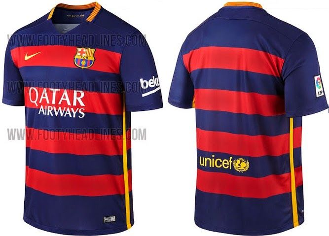 FC Barcelona 2015-16 Home Away Kits Official Released  eaf5ce1d4bc