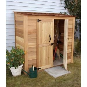 Outdoor Living Today 3 Ft. X 6 Ft. Western Red Cedar Grand Garden Chalet. Wood  Storage ShedsBackyard ...
