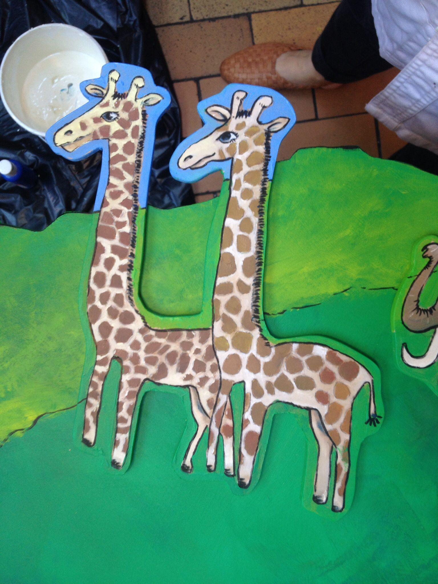 Dyr giraffer