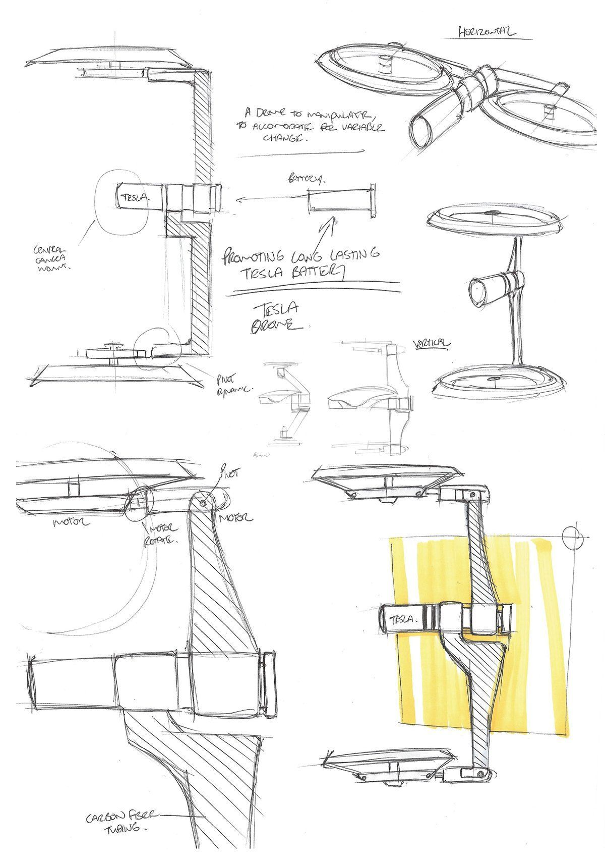 tesla drone - Google 검색 #dronesdiy | Drone design, Tesla ...