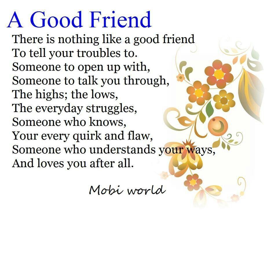 Poem best my short friend on 44 Best