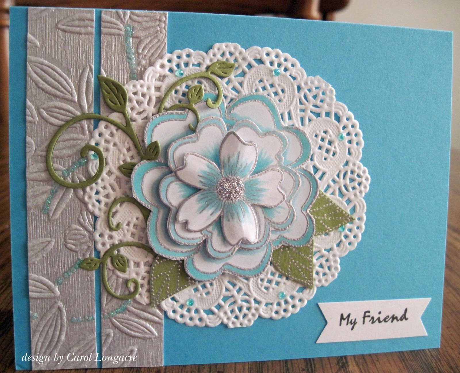 Friendship card by carol longacre cards i love pinterest