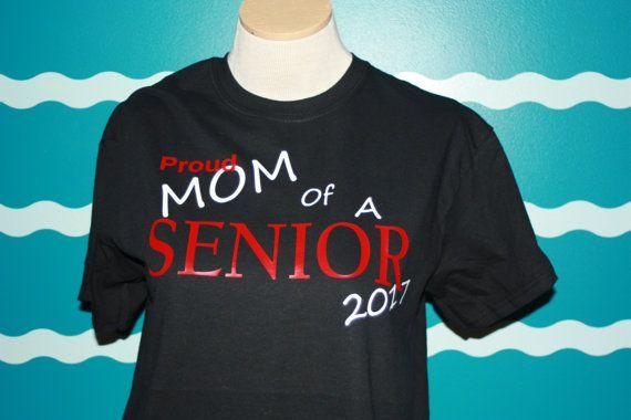 89251d0b 2019 Senior Mom T-shirt - Proud Mom Shirt - Custom Senior T-shirt ...