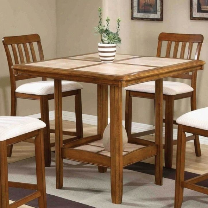 Tall Square Kitchen Table Design   Home Decorations   Pinterest ...
