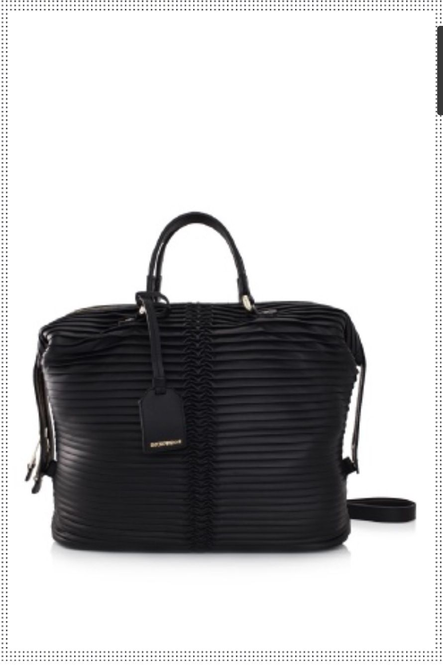 Georgio Armani leather, love it!! ❤❤