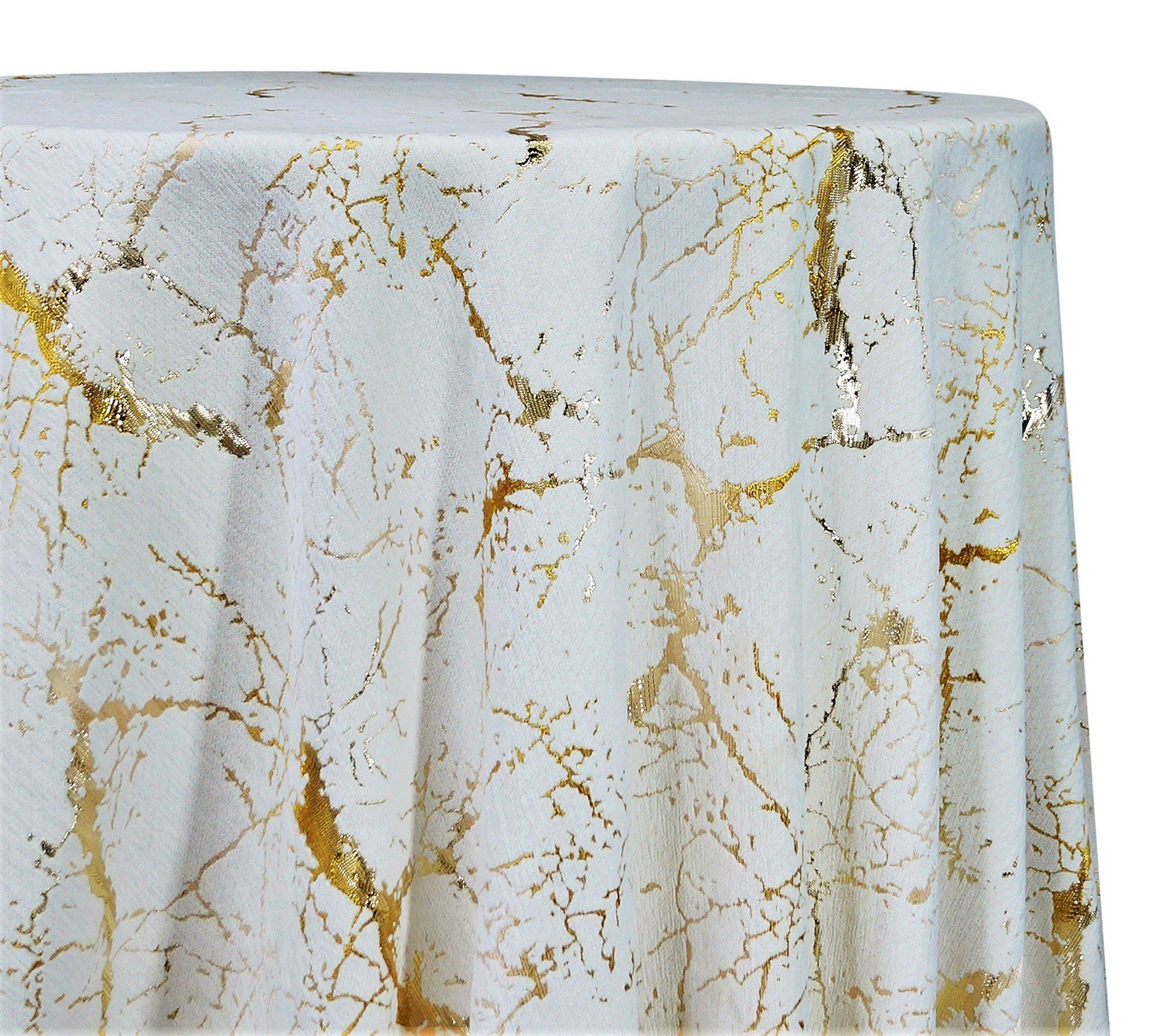 Marble Jacquard Tablecloths Overlays Wholesale Tablecloths
