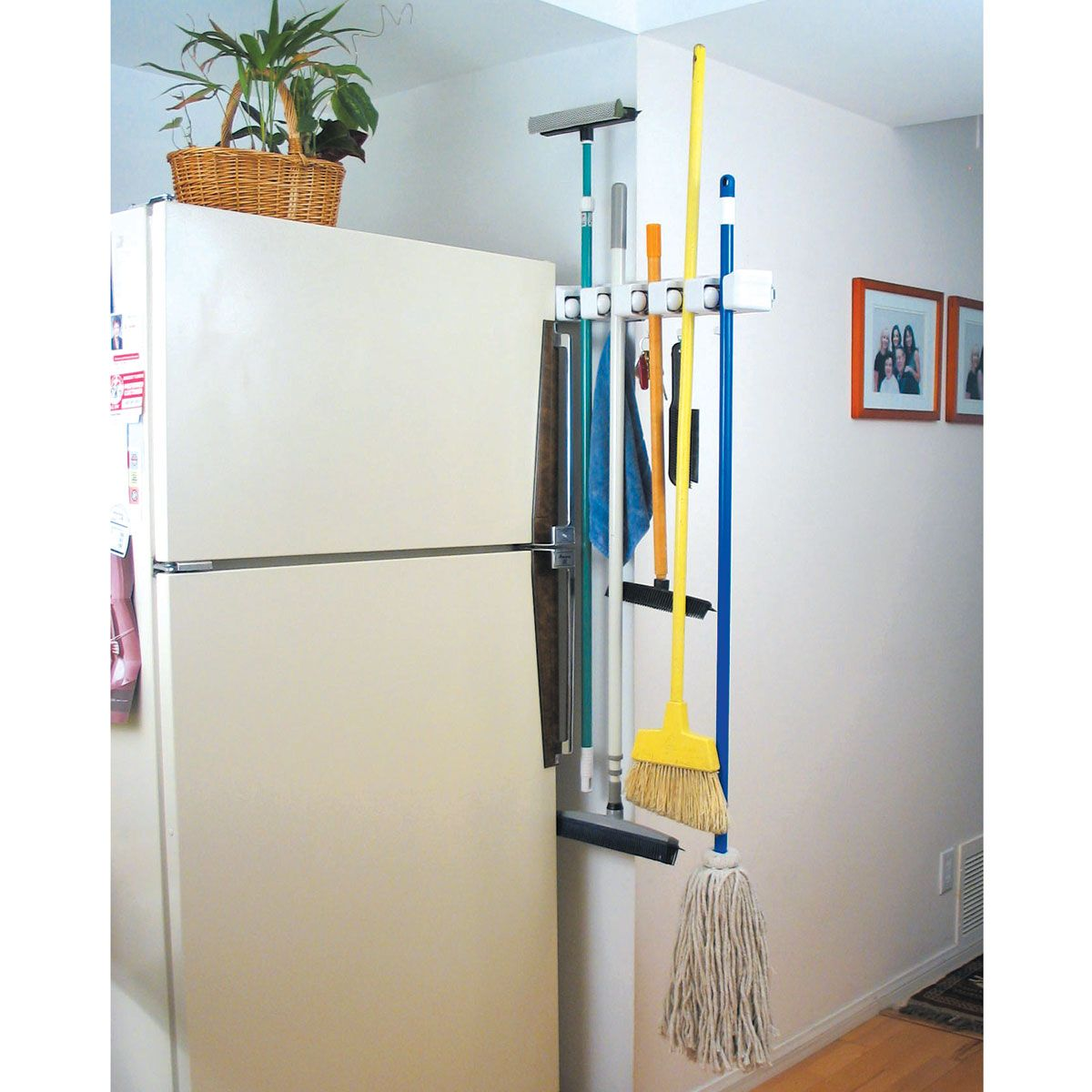 N Slide Broom And Mop Holder Organization Around The House From Sporty S Tool