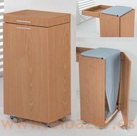 Armario mesa tabla para planchar el bazar mueble en for Mueble tabla planchar