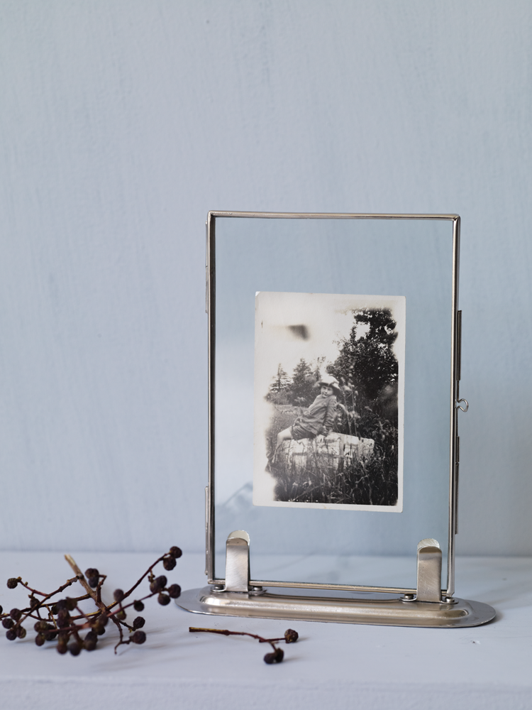 delicate standing glass frame new our nest