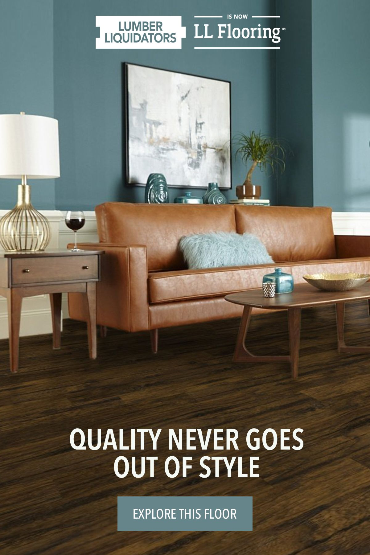 Your Style May Change Over The Years So Choose A Floor That Can Keep Up Aquaseal S Commonwealth Rustic Hickory Laminate From Ll In 2020 Flooring Laminate Home Decor