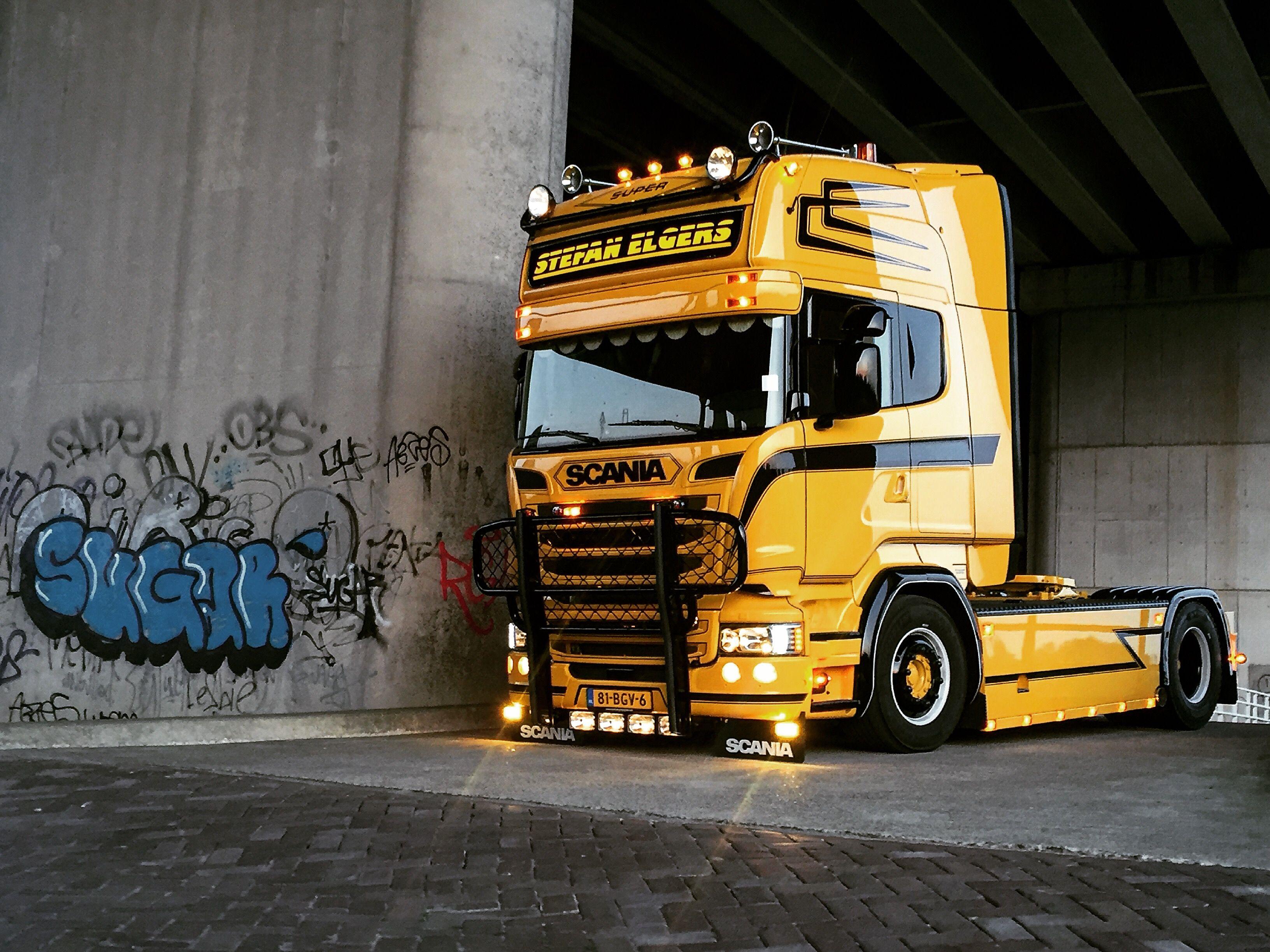 scania v8 r730 stefan elgers scania semi trucks train. Black Bedroom Furniture Sets. Home Design Ideas