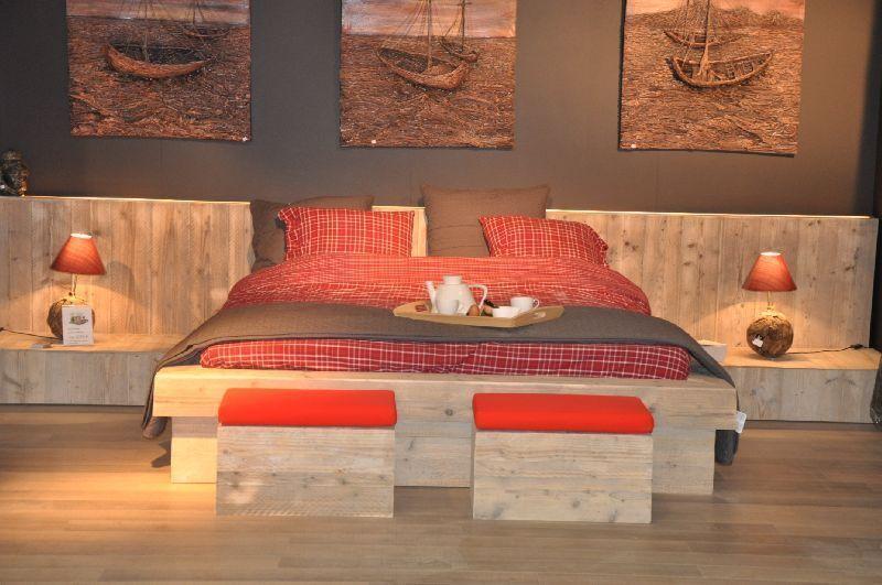 Slaapkamer Met Steigerhout : Steigerhout slaapkamer meubels steigerhouten archiv dressoir