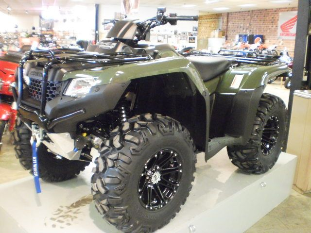 Custom Off-Road Package Honda Rancher at the Cycle Center