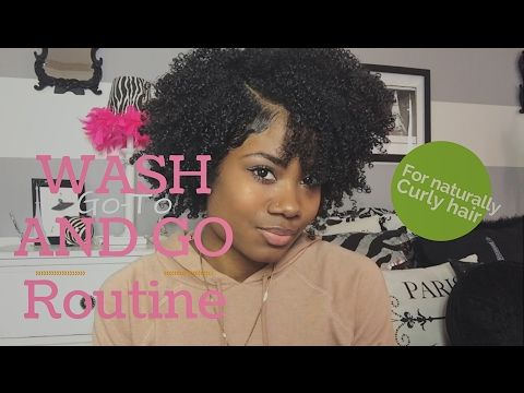 GO-TO Wash and Go for Naturally Curly Hair!!!! [Video] - https://blackhairinformation.com/video-gallery/go-wash-go-naturally-curly-hair-video/