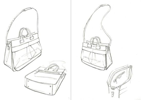 3bb0a46603 Handbag Sketches Design sketches handbags