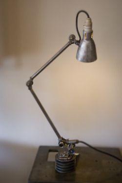 Industrial Table Lamp - Werkbank lamp | Pinterest - Werkbank ...