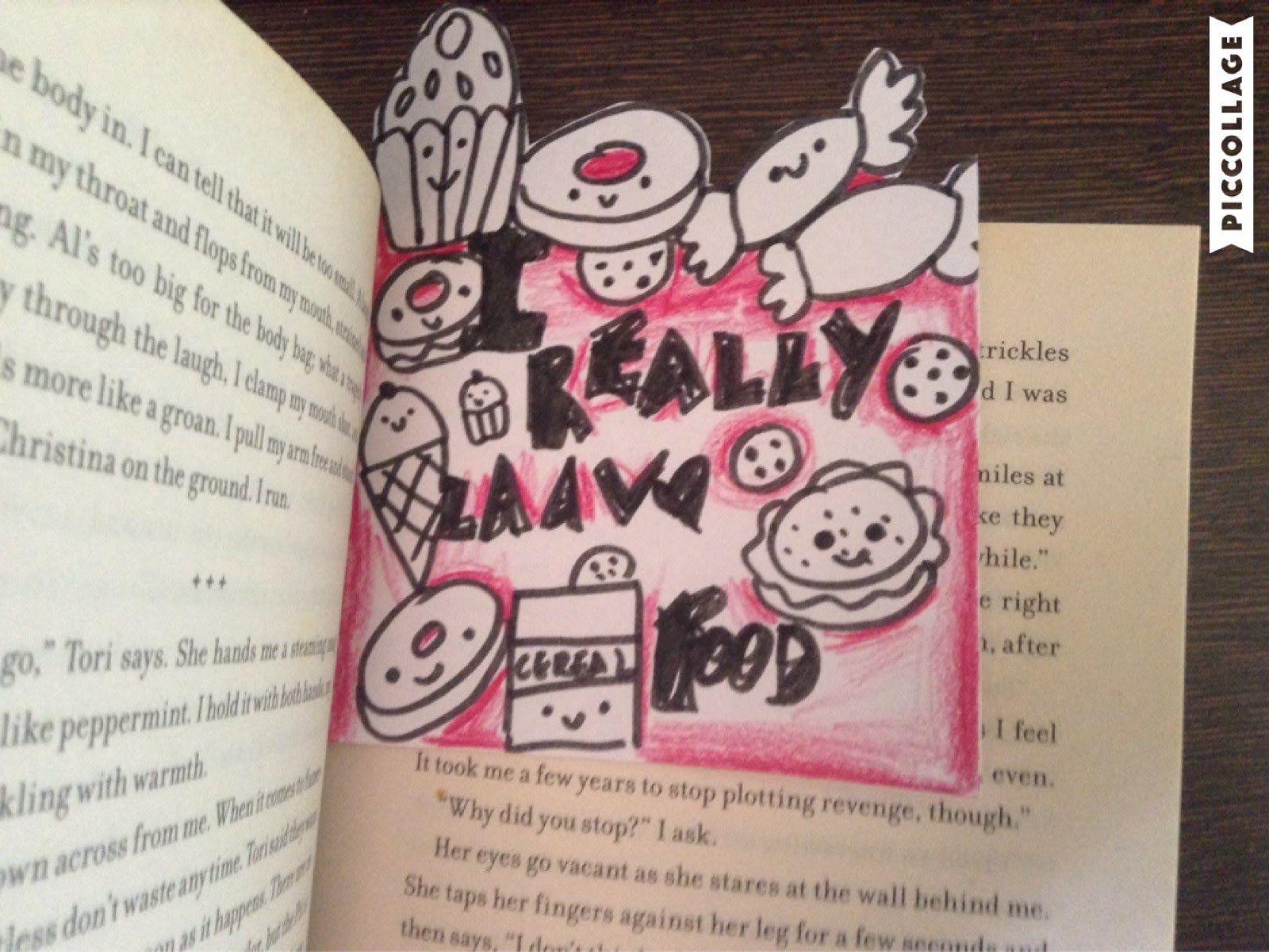 DIY Doodle Bookmark : Foods   SheratonCookies 03