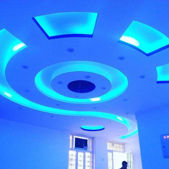 Indirect Lighting Techniques And Ideas For Bedroom Living: LED Indirect Lighting For False Ceiling Design Of Gypsum