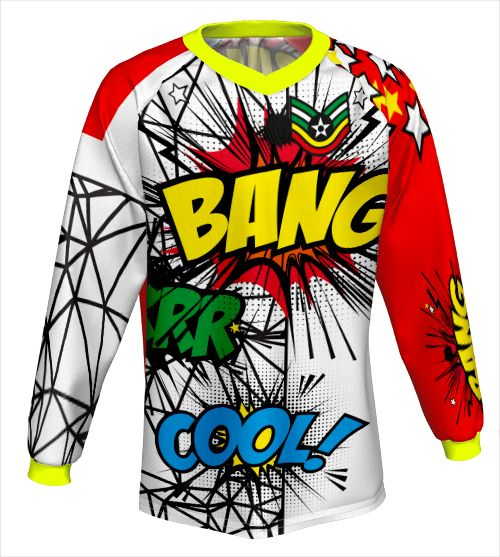 Download MTB Freeride jersey | Cycling wear, Clothing mockup, How ...