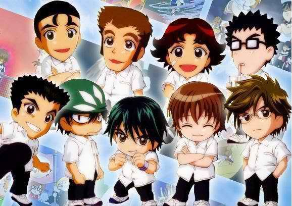 Prince Of Tennis Chibi Prince Of Tennis Anime The Prince Of Tennis Echizen