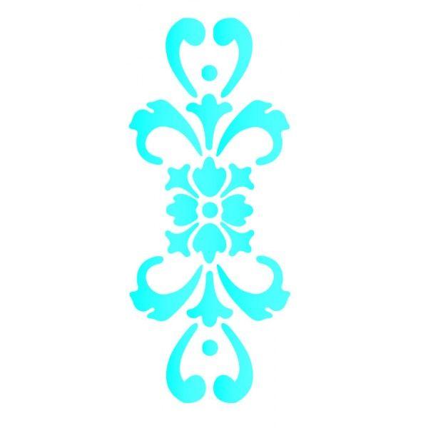 Stencil de arabescos para imprimir imagui plantillas for Plantillas para decorar paredes