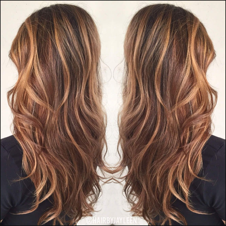 Brown Hair Color Caramel Highlights Caramel Balayage Warm Brown