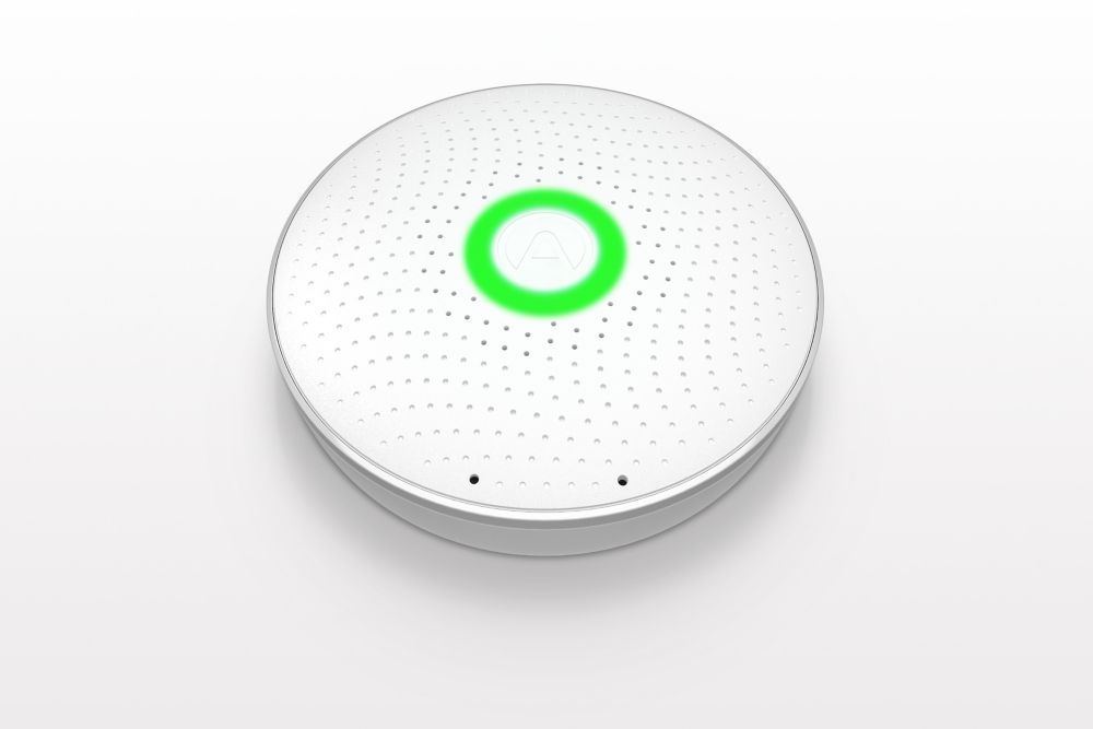 Airthings Wave Smart Radon Detector Gas Detector Indoor Air Quality Wireless Wave