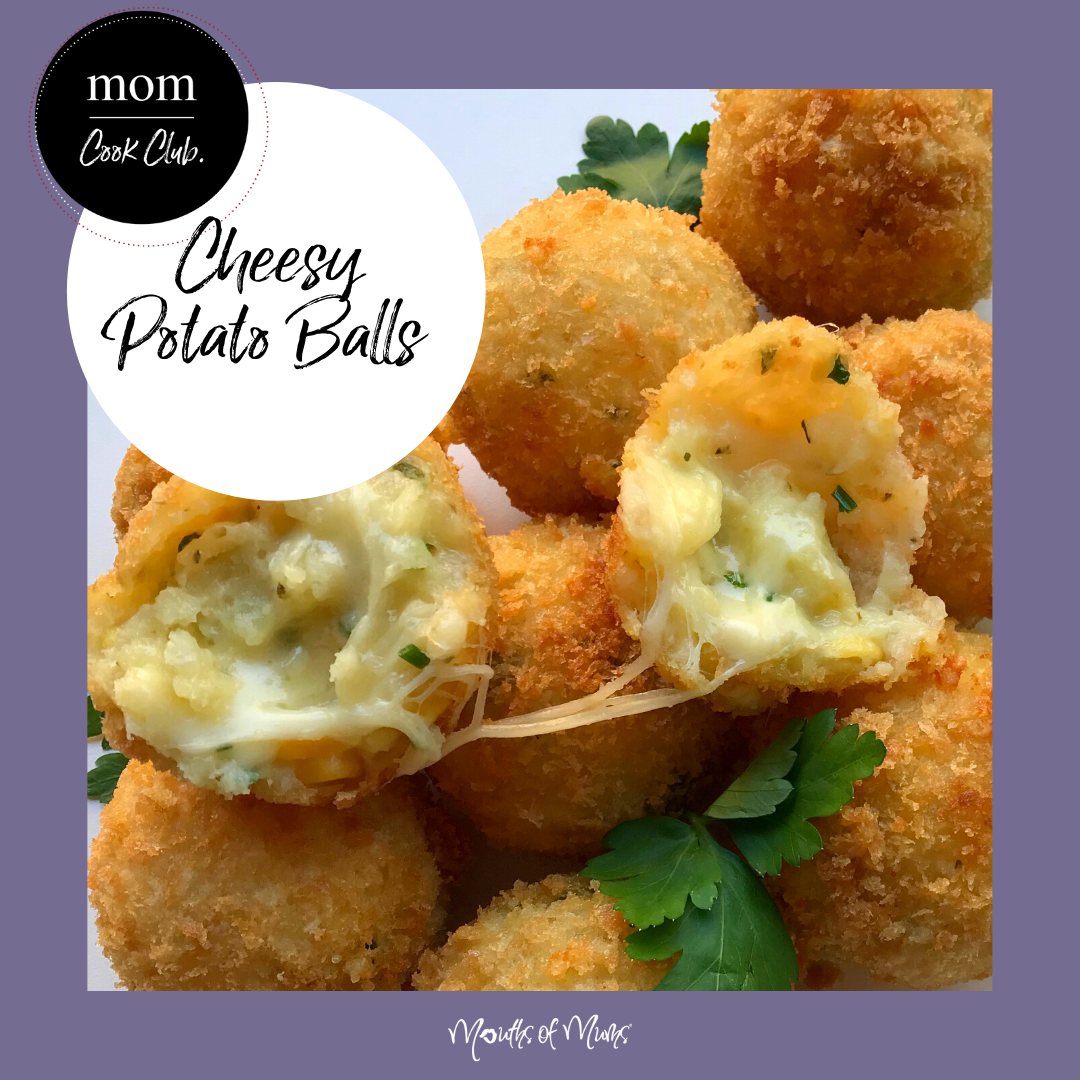 Please people tell me if there is ANYONE out there who wouldn't love a plate of these right now! Cheesy, crunchy ... these little babies are from MoM Member 'Mum2Archer' and we're in love.  Cheesy Potato Balls RECIPE >  . . #momcookclub #mouthsofmums #nomnom #easyrecipe #delish #homemade #closetohome #sogood #cheesy #cheesypotatoballs #fried #foodheaven #loveyourfamily #feedyourfamily