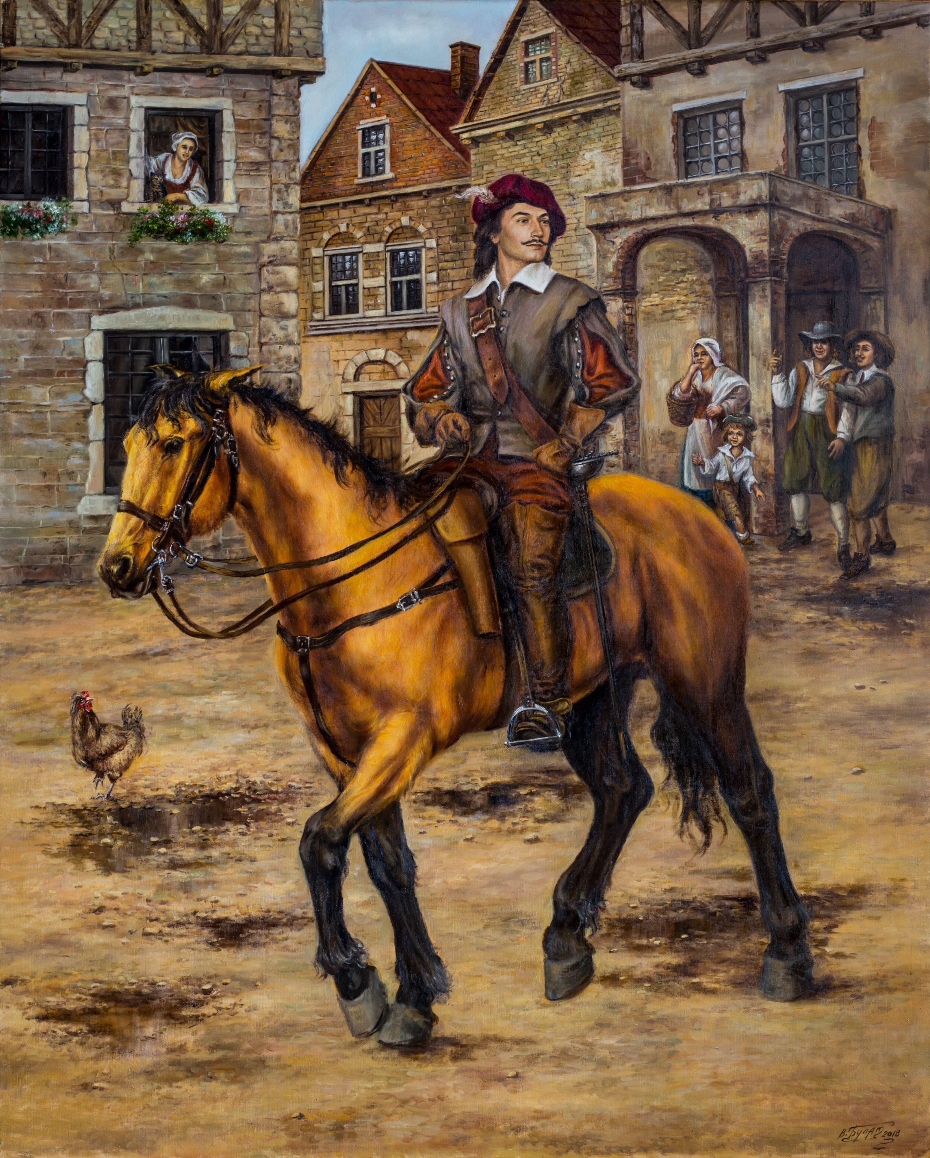Днем, картинки мушкетеров на коне для детей