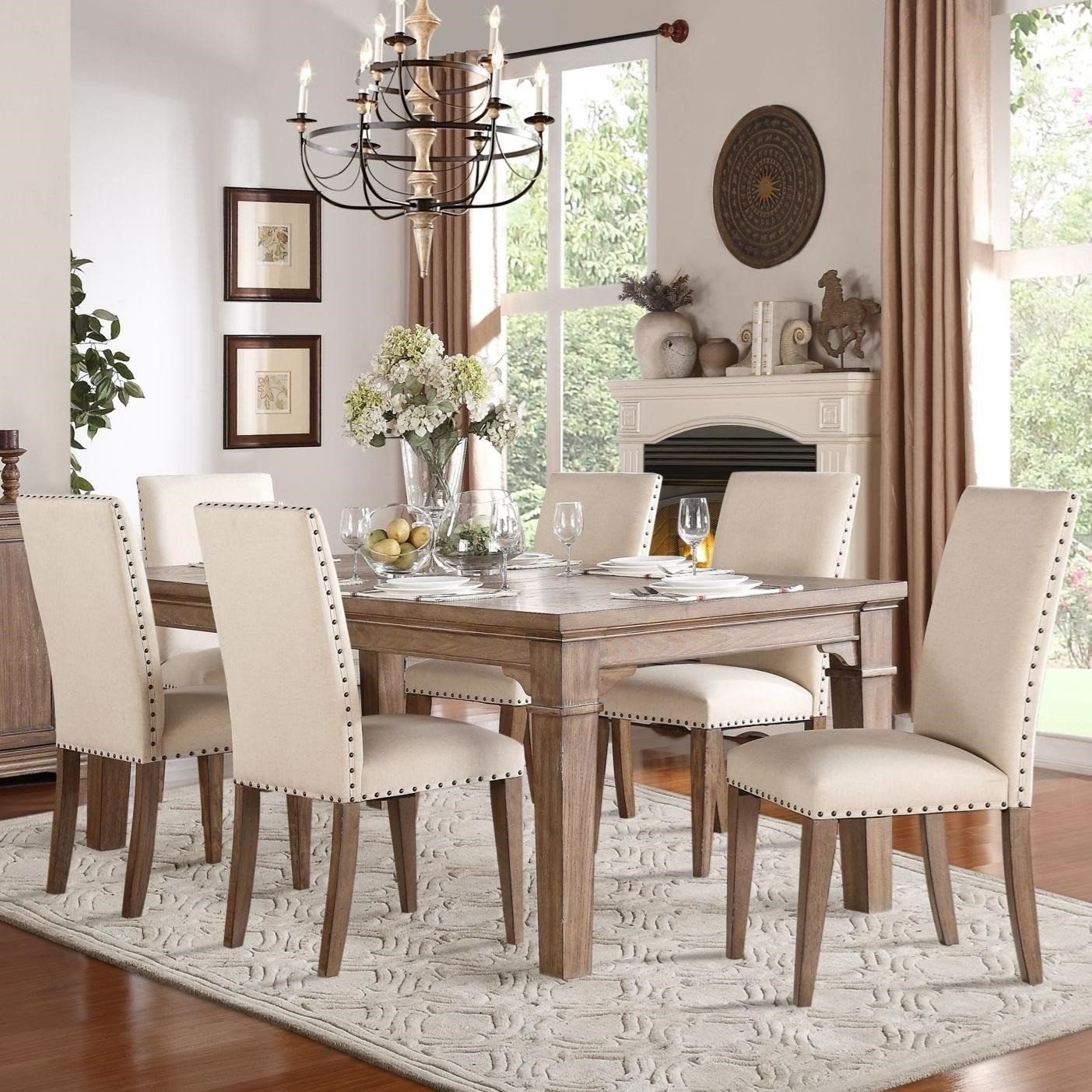 Vintage Living Room Chairs Luxury Mill Valley Relaxed Vintage Dining Table And Chair In 2020 Rectangular Dining Room Table Dining Room Table Chairs Vintage Dining Room