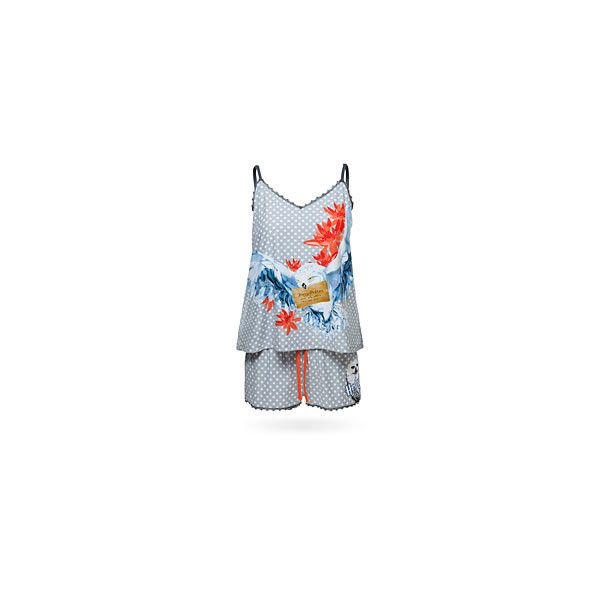 Harry Potter Hedwig Lace Tank and Shorts Sleep Set (€28) ❤ liked on  Polyvore featuring intimates 80422709a