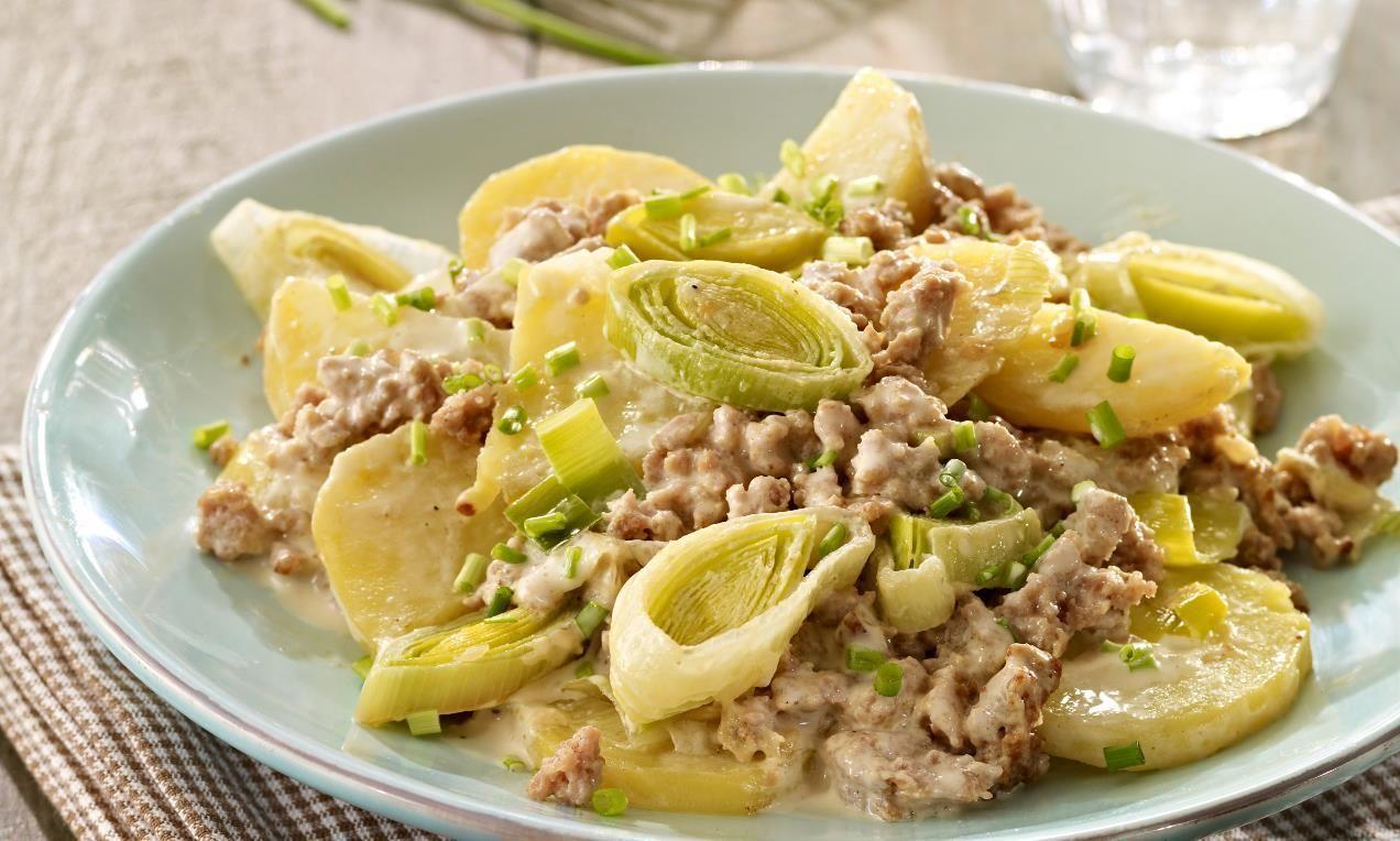 schnelle kartoffel-hackfleisch-pfanne | rezept | rezepte - Rezept Des Tages Schnelle Küche