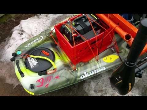 Pelican Catch 120 Nxt Motor Mount Measurements And Pieces Youtube Trolling Motor Mount Trolling Motor Kayak Fishing