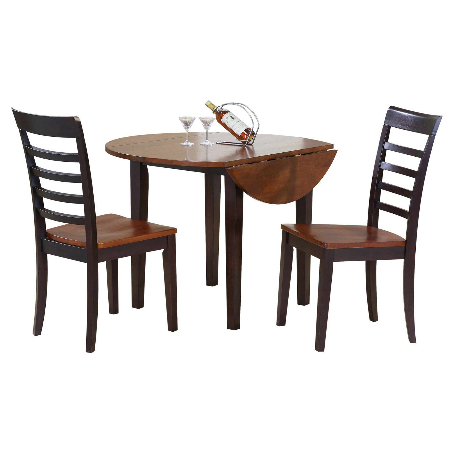 Winners Only Contemporary Farmhouse 3 Piece Dining Table Set Fascinating Three Piece Dining Room Set Design Inspiration