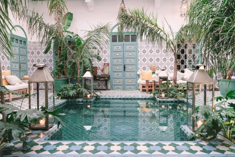 The Most Beautiful Riad Airbnbs in Marrakech, Morocco - Bon Traveler