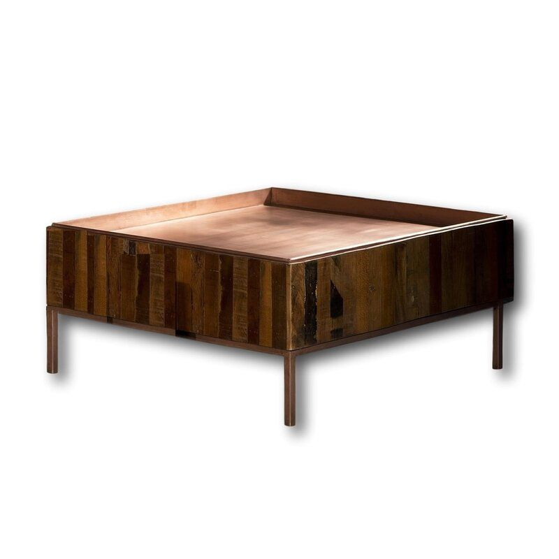 Kinsella Coffee Table | Teak coffee table, Coffee table ...