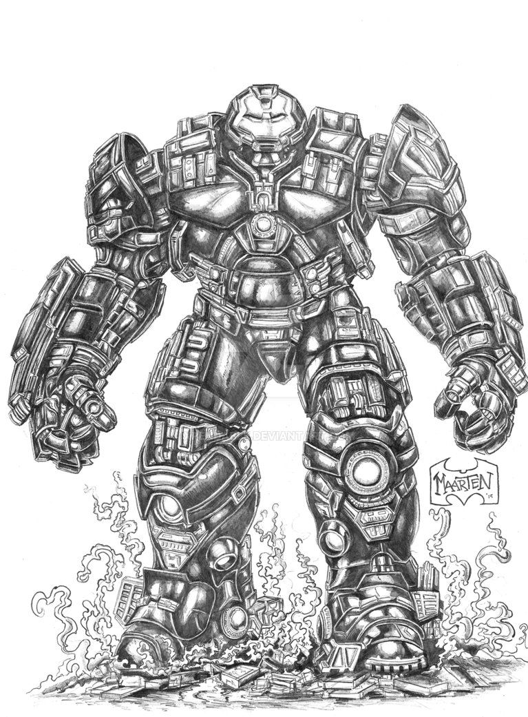Iron Man Hulkbuster By Xpendable On Deviantart Com Imagens