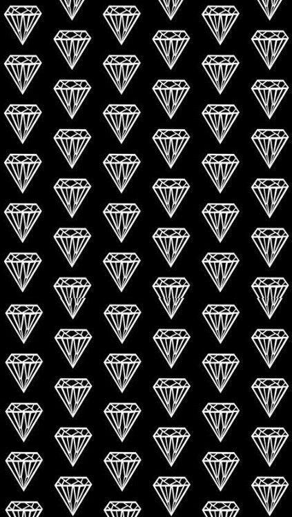 Diamond Print Black White Pattern In 2019 Diamond