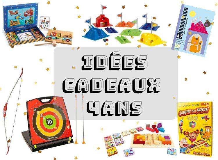 Liste idées cadeaux pour enfant 4 ans Noël anniversaire | Cadeau