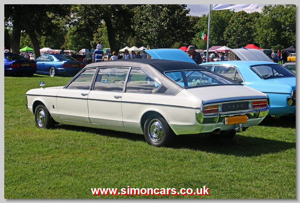 Ford Granada 1978 Coleman Milne Limousine The Coupe Rear Is