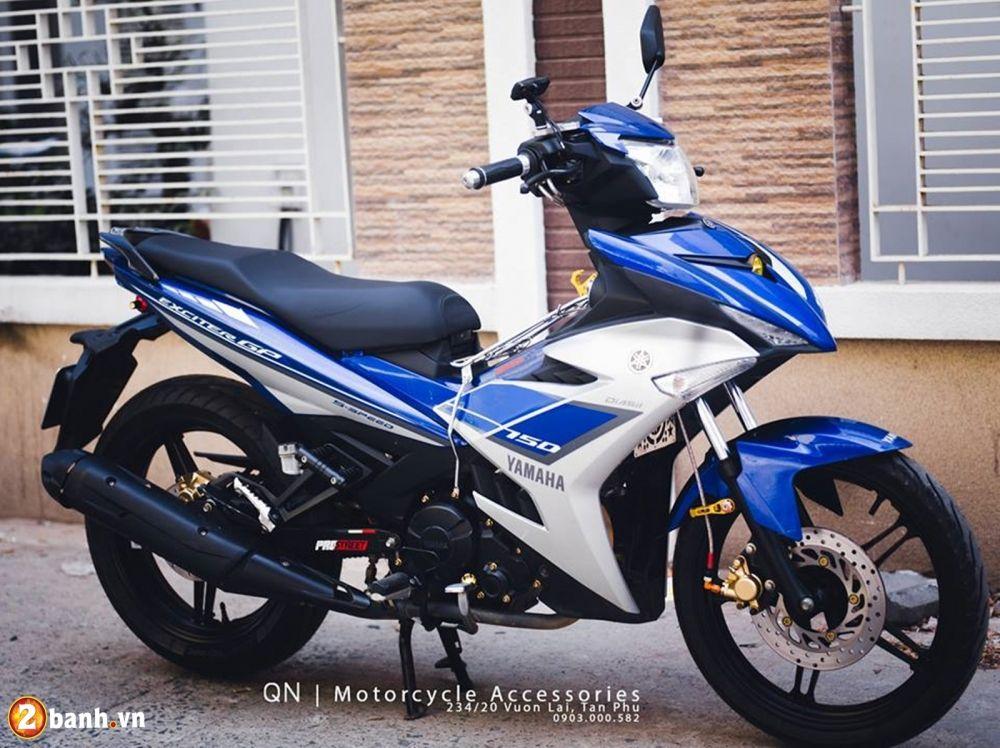 """Bài viết liên quan  Cận cảnh Yamaha Exciter 150 độ 200 triệu của đại gia Cường """"Đô-la"""" Bảng giá xe Yamaha Exciter 150 tháng 1/2017 tại các đại lý Xem Yamaha Exciter 150 độ nhẹ nhưng vẫn sang chảnh Bộ tứ Yamaha Exciter 150 độ bánh..."""
